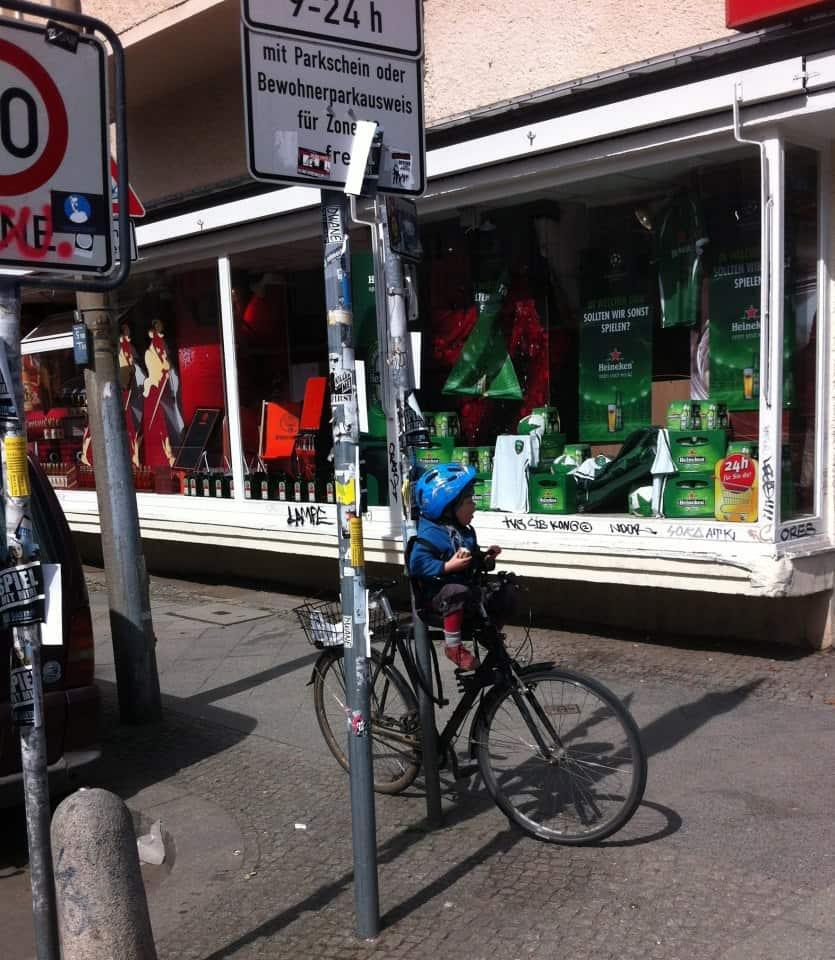Pas på cykeltyve i Berlin